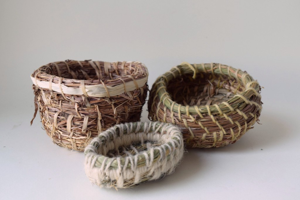 Basket Weaving Using Vines : Sheep and wool festival work s