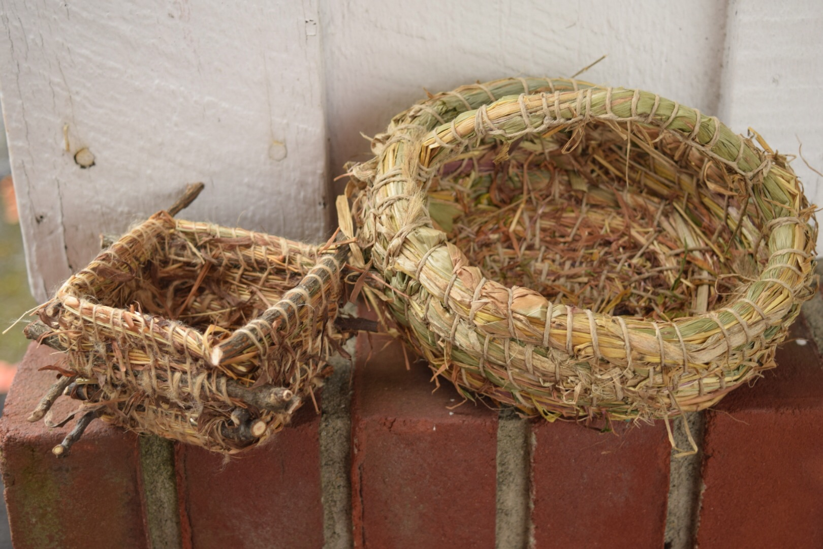 Teaching Basketry At The 2016 NYS Sheep And Wool Festival