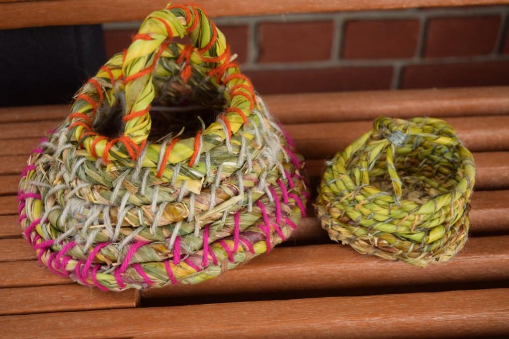creative basket handles