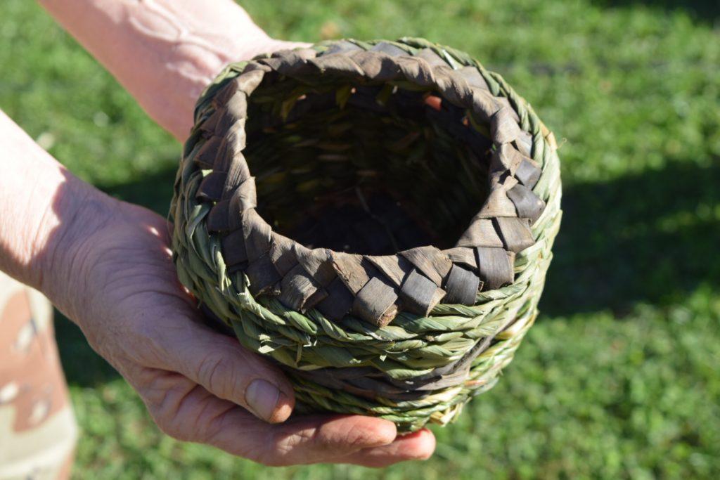 Gorgeous braided black walnut rim