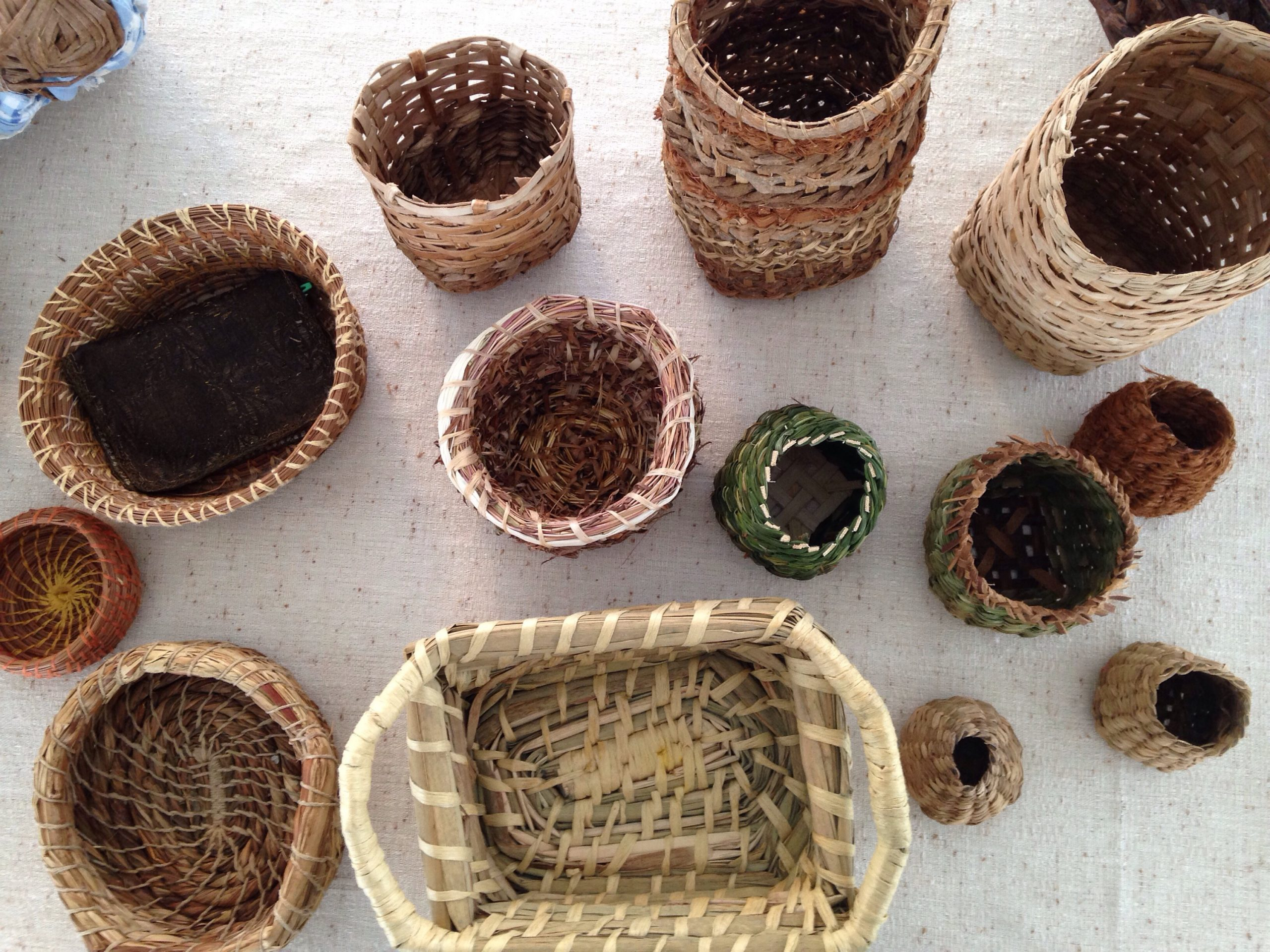 Basketry Workshop At The Nys Sheep And Wool Festival