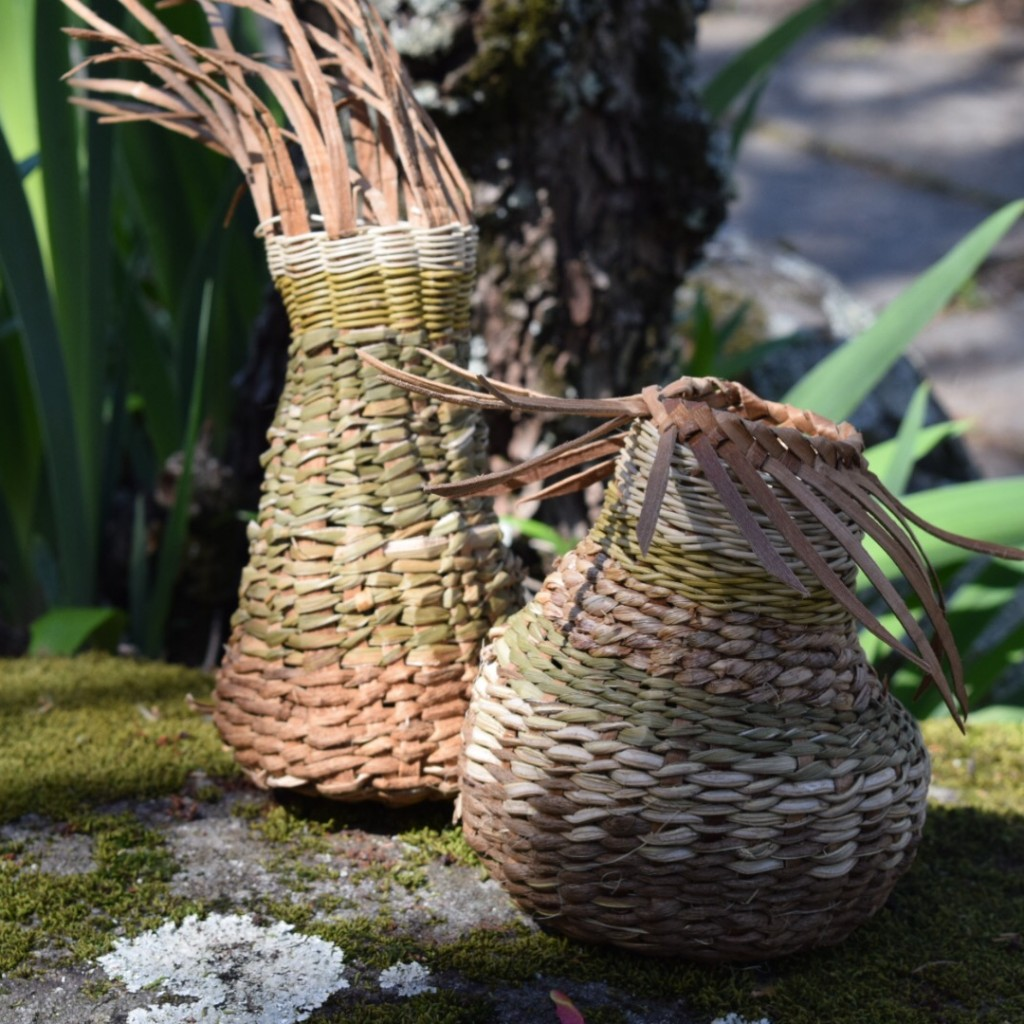 These Are Baskets By A Couple Who Were Taking The Workshop Together!