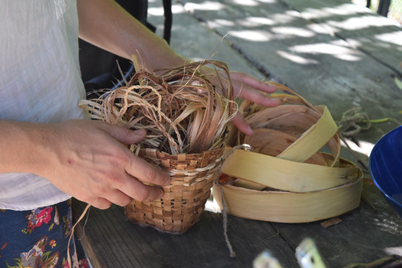 How To Weave A Bark Basket At The 2017 Mentorship Series