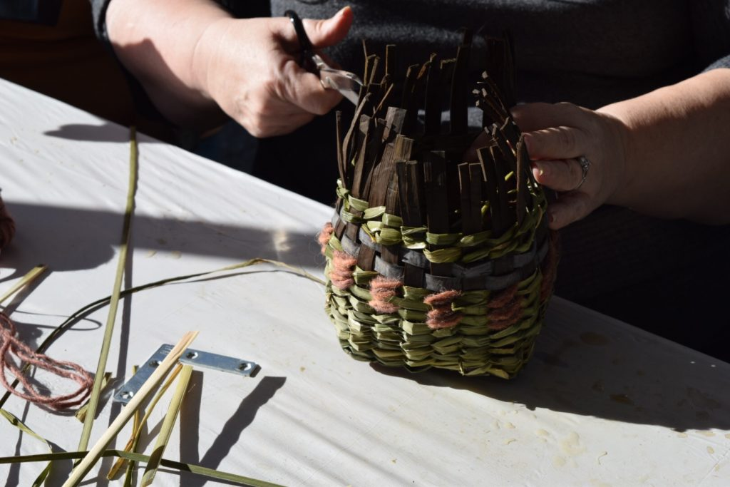 Twined basket workshop