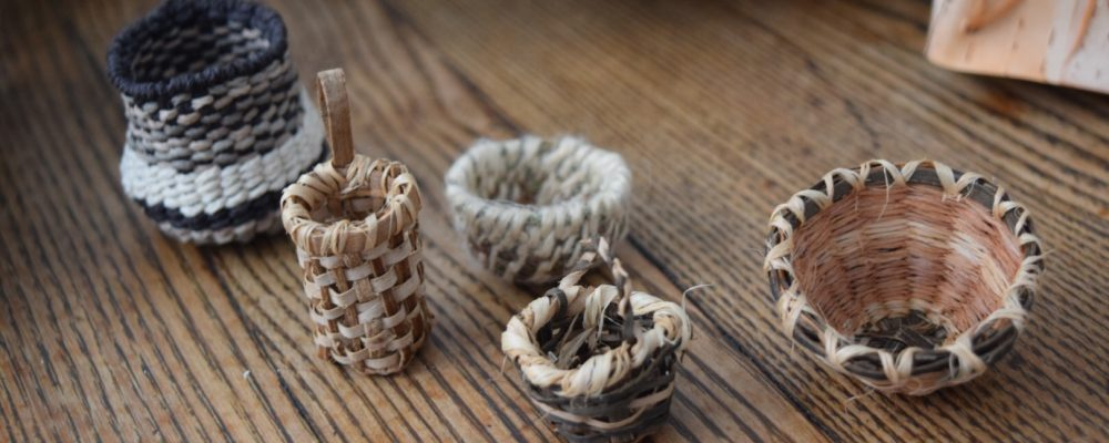 Making Miniature Baskets