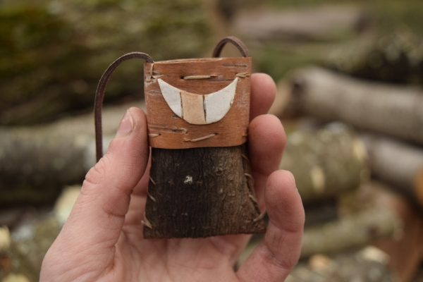 pine bark necklace by katie grove