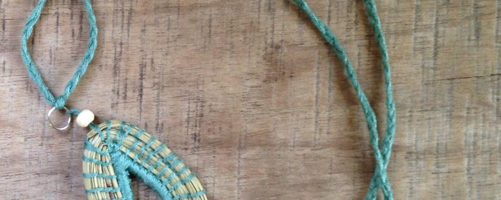Coiled Pine Needle Jewelery