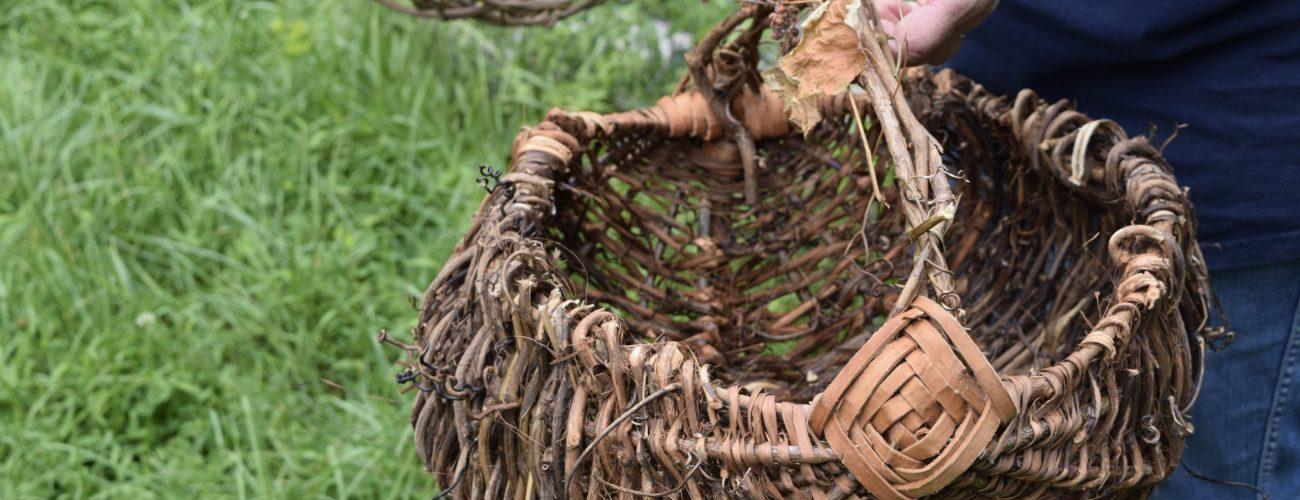 ribbed basket