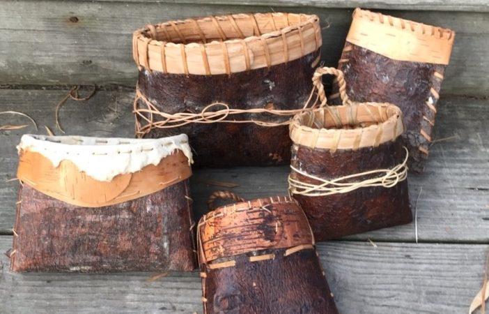 Pine Bark Baskets 6